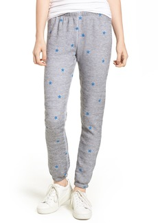Wildfox Football Star Knot Sweatpants
