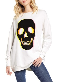 Wildfox Glow Skull Roadtrip Sweatshirt
