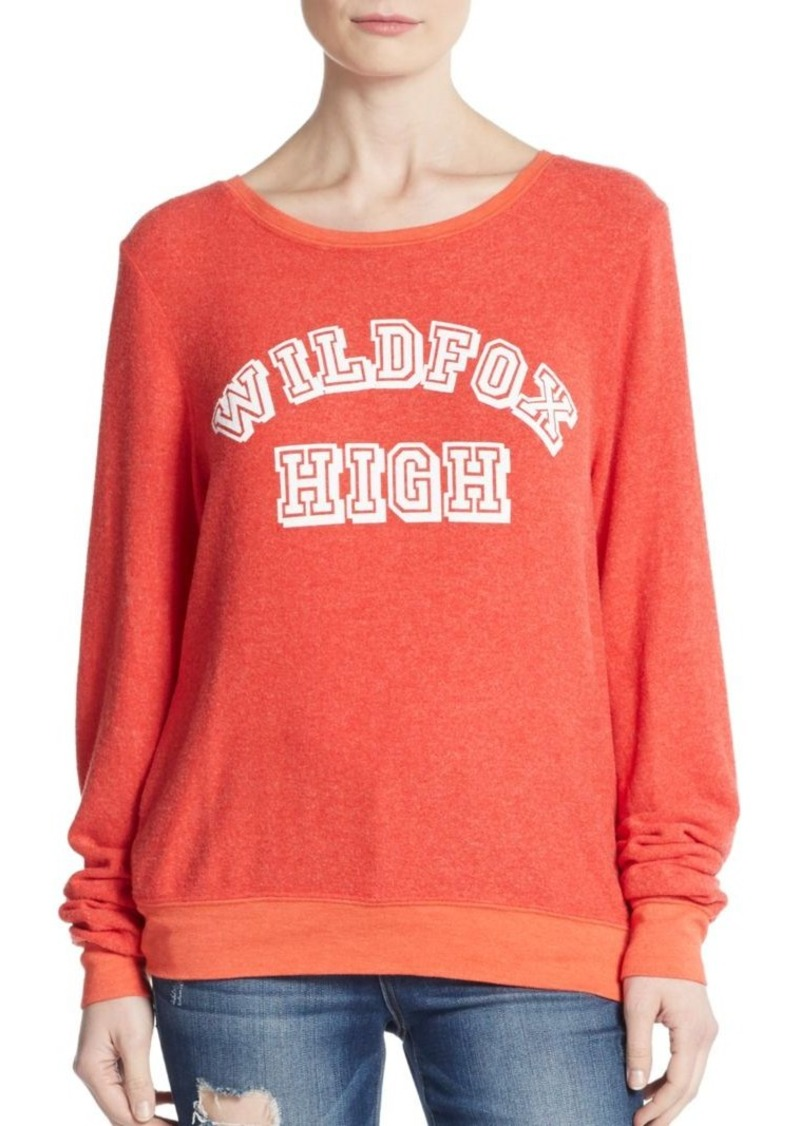 Wildfox High Pullover