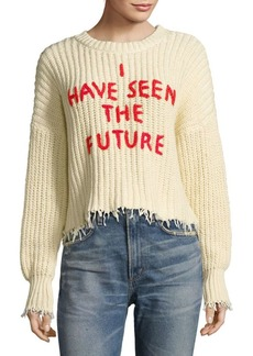 Wildfox I Have Seen The Future Sweater