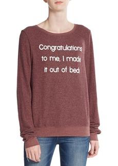 Wildfox I Made It Sweatshirt
