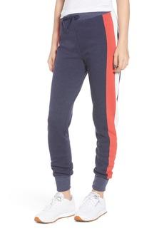 Wildfox Jack Varsity Stripe Jogger Pants
