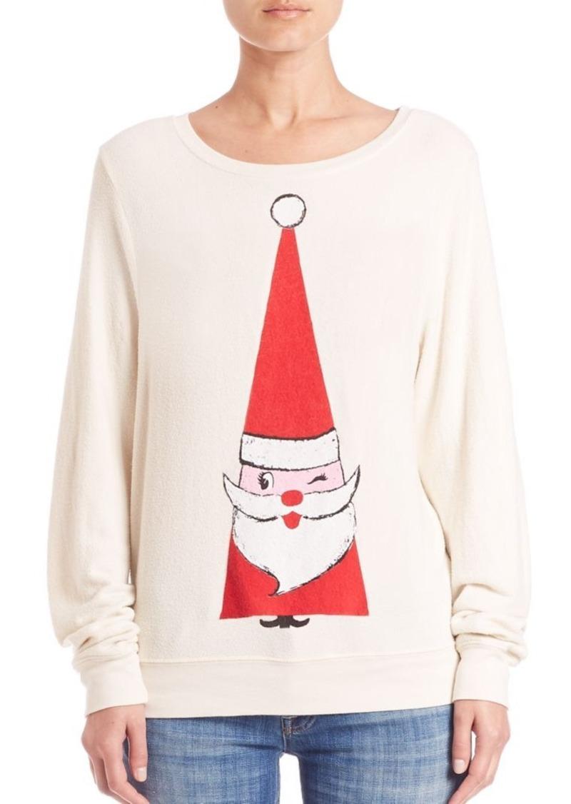 Wildfox Christmas.Wildfox Wildfox Jingle Yam Sweatshirt Sweaters