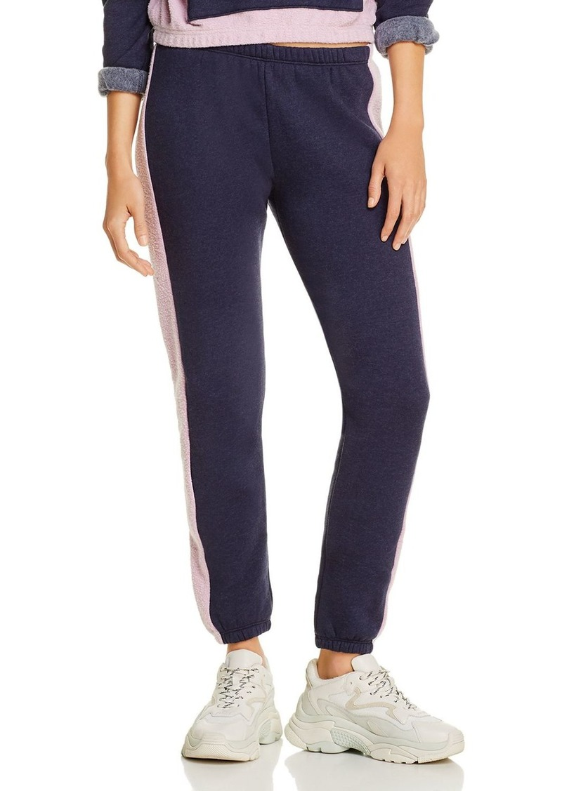WILDFOX Knox Contrast-Trim Track Pants