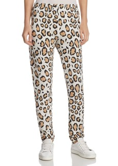 WILDFOX Knox Leopard Print Sweatpants