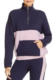 WILDFOX Lea Half-Zip Sweatshirt