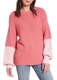 Wildfox Love Block Swinton Sweater