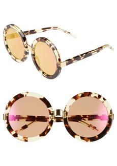 Wildfox 'Malibu Deluxe' 55mm Retro Sunglasses