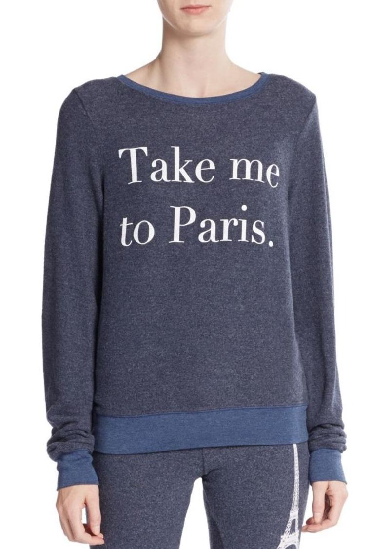 Wildfox Paris First Date Sweatshirt