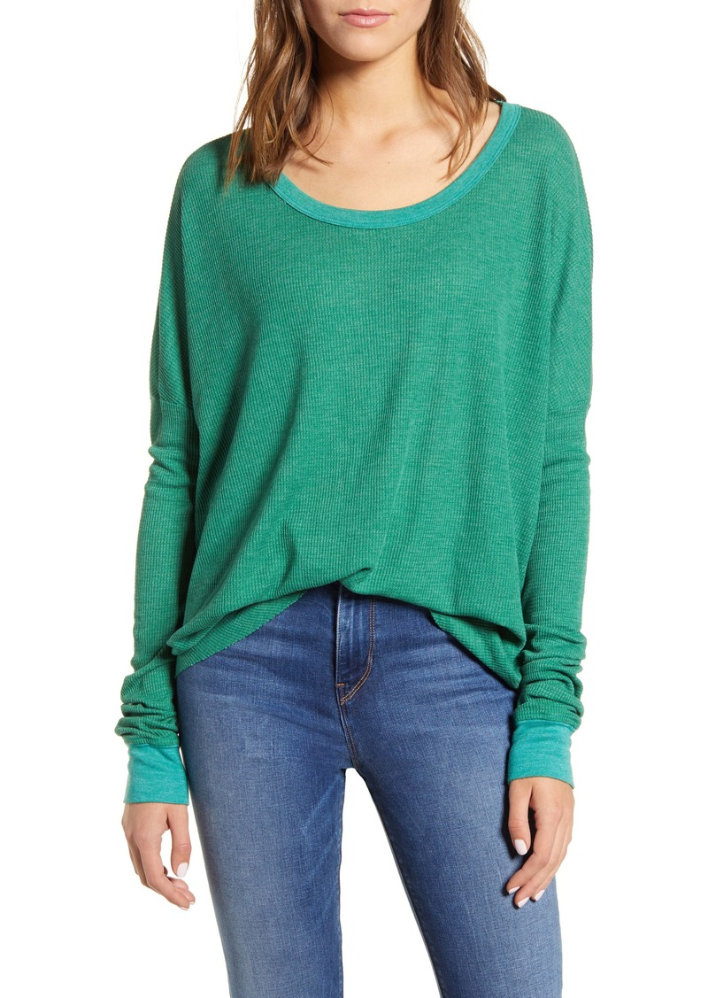 Wildfox Perry Thermal Tee