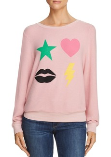 WILDFOX Powericon Graphic Sweatshirt - 100% Exclusive