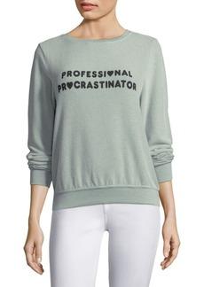 Wildfox Procrastinator Sweatshirt