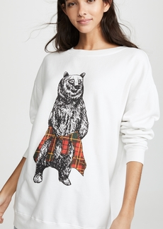 Wildfox Roadtrip Hip Grizzly Sweatshirt