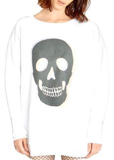WILDFOX Roadtrip Skull Sweatshirt