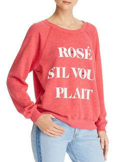 WILDFOX Ros� Sweatshirt
