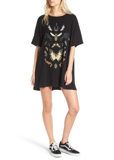 Wildfox Shadowbox T-Shirt Dress