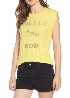 Wildfox Smile and Nod Vintage Muscle Tee