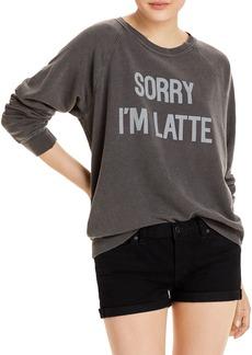 WILDFOX Sorry I'm Latte Sweatshirt
