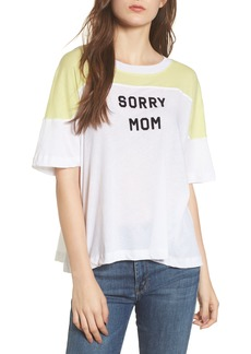 Wildfox Sorry Mom Samuel Tee