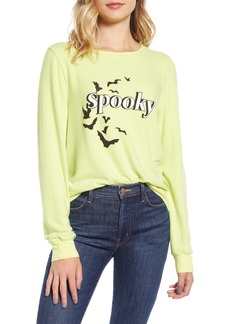 Wildfox Spooky Baggy Beach Jumper Pullover