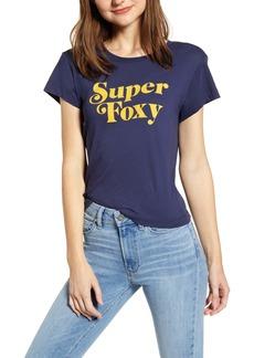 Wildfox Super Foxy No. 9 Graphic Tee