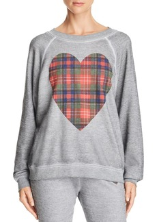 WILDFOX Tartan Heart Sweatshirt - 100% Exclusive