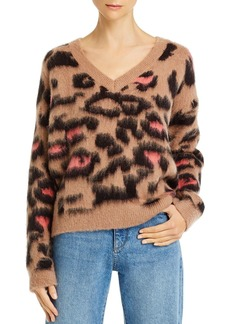 WILDFOX Tatum Preppy Kitty Sweater