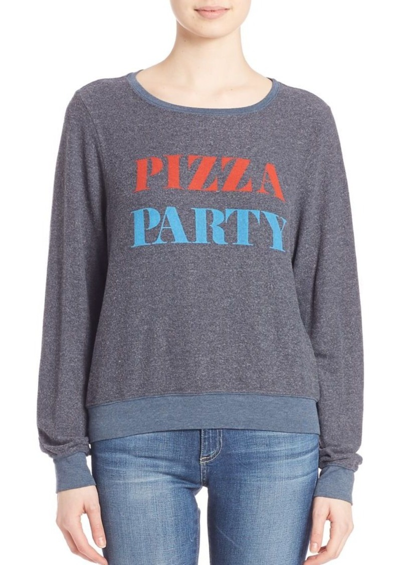 Wildfox The Pizza Party Sweatshirt