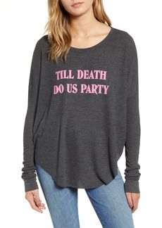Wildfox Till Death Do Us Party Thermal Tee