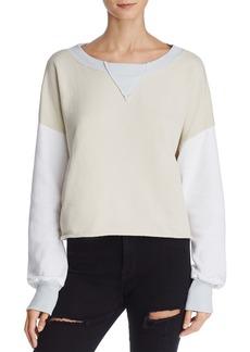 WILDFOX True Love Color-Block Sweatshirt