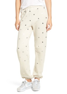 Wildfox Twinkle Star Jogger Pants