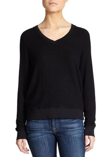 Wildfox V-Neck Sweatshirt