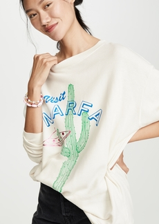 Wildfox Visit Marfa Roadtrip Sweatshirt