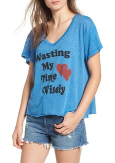 Wildfox Wasting Time Tee