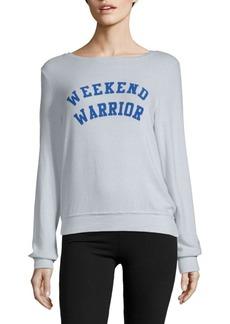 Wildfox Weekend Warrior Sweatshirt