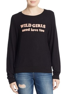 Wildfox Wild Girls Sweatshirt