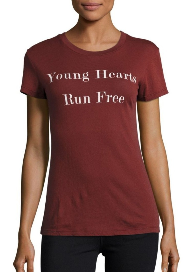 Wildfox Young Hearts Run Free T-Shirt