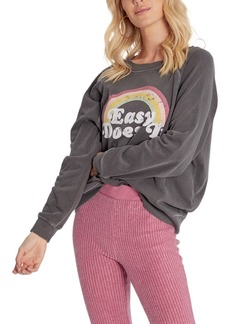 Women's Wildfox Sommers Easy Does It Graphic Sweatshirt