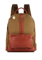 Will Leather Goods Signature Canvas & Leather Backpack