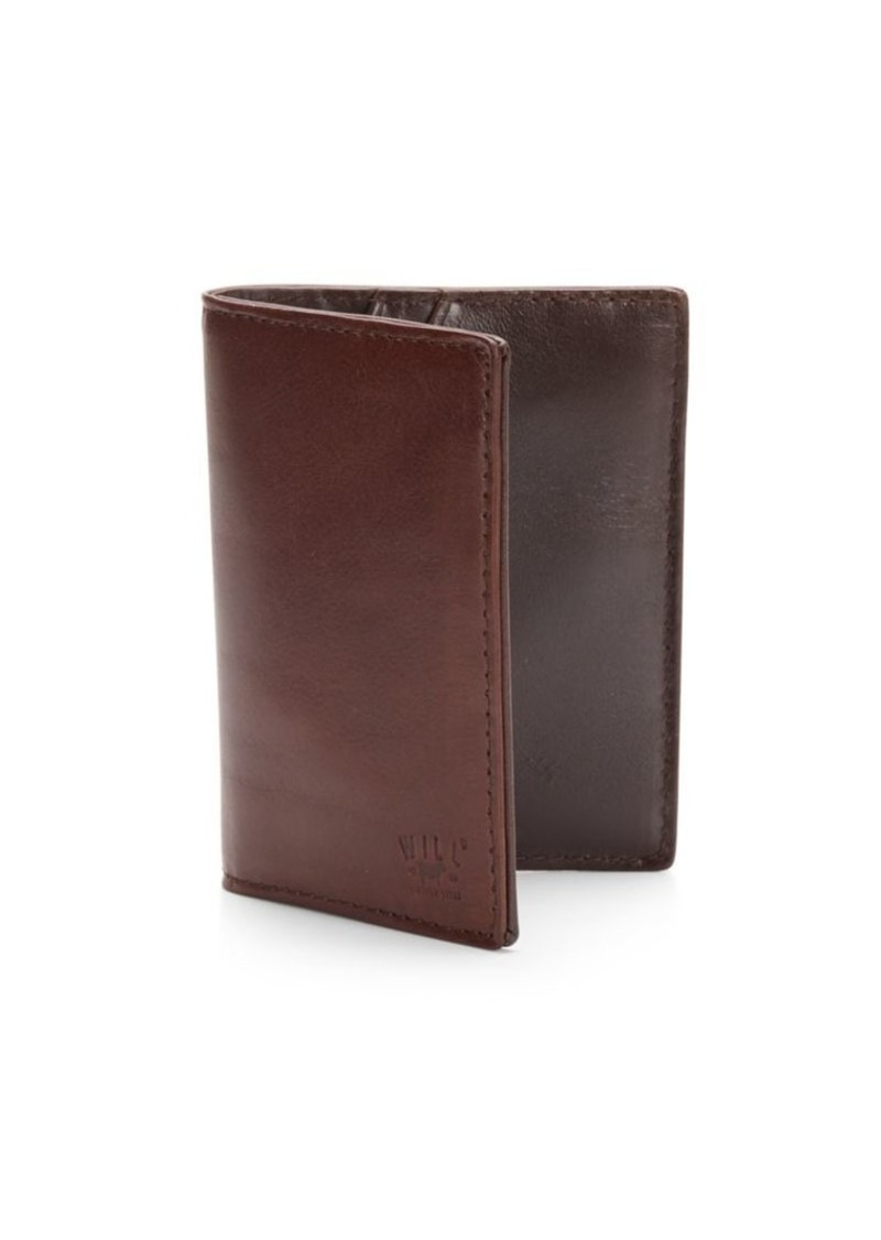 Will Leather Goods Leather Card Case