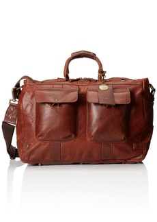Will Leather Goods Men's Leather Traveler Duffle