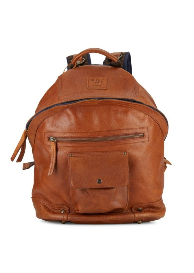 Will Leather Goods Silas Leather Backpack