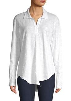 Wilt Cotton Long Sleeve Polo Shirt