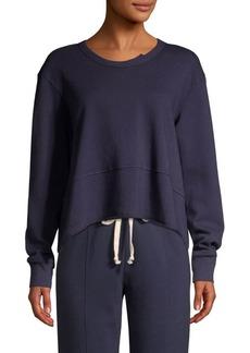 Wilt Cropped Boxy Cotton Sweatshirt