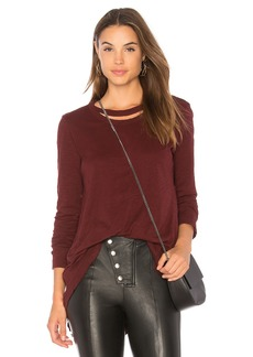 Wilt Double Neck Slouchy Top