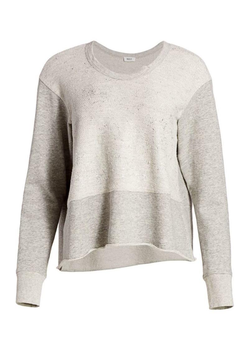Wilt Mixed Foil Sweatshirt