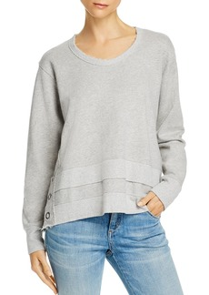Wilt Boxy Side-Snap Sweatshirt