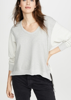 Wilt Deep V Mixed Sweatshirt