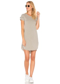 Wilt Shifted Tee Dress With Sleeve Detail