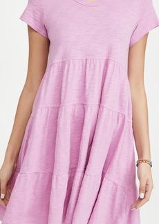 Wilt Short Sleeve Trapeze Dress